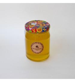 Акациевый мёд в стеклянной банке, 0,5 л.