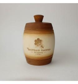 Бочонок с натуральным мёдом, 0,3 кг