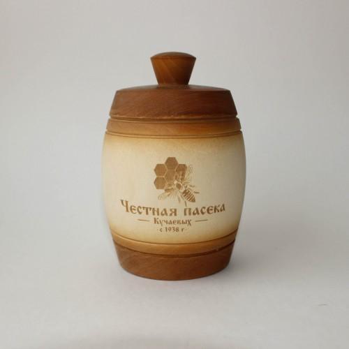 Бочонок с натуральным мёдом, 0,2 л.