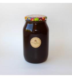 Гречишный мёд в стеклянной банке, 1л