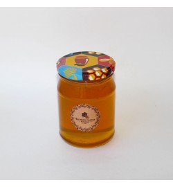 Липовый мёд в стеклянной банке, 0,5 л.