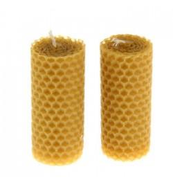 Свеча из вощины, 8 см.